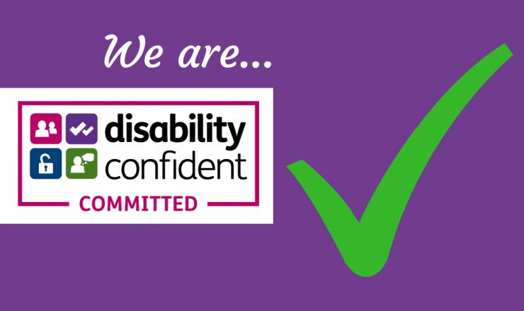 We are Disability Confident Committed!